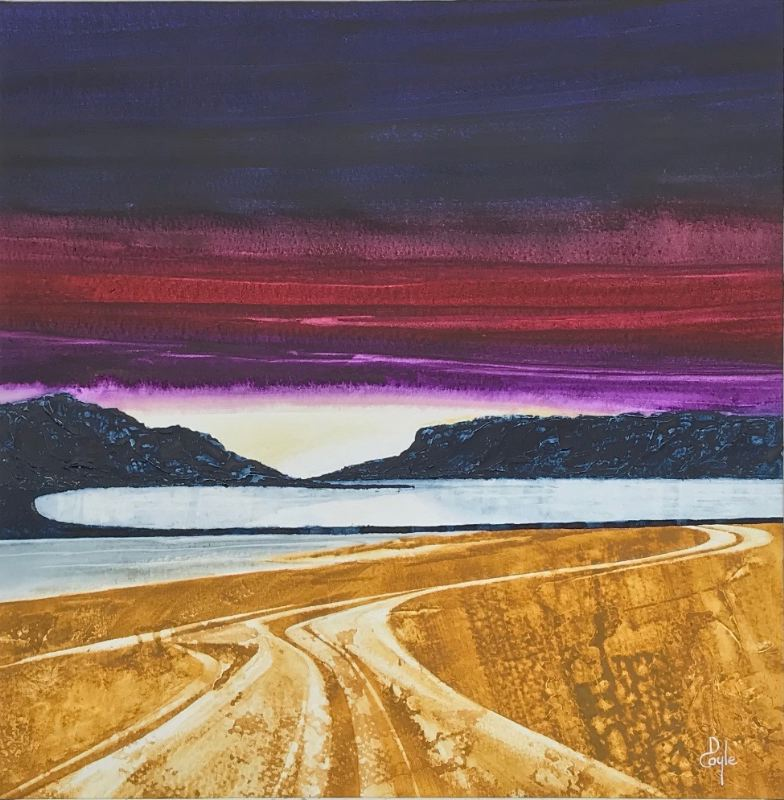 Calgary Bay - Receding Tide Sunset  (SOLD)