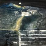 Ettrick Farm - Moonlight