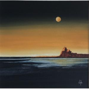 Duart Castle - Moonlit - (SOLD)