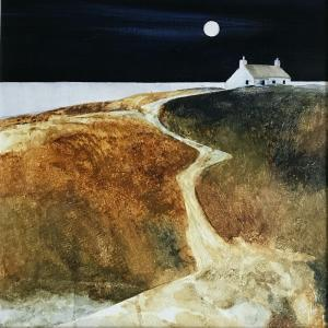 Grasspoint Cottage - Moonlit Path